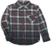 Sovereign Code Boys' Dip-Dyed Plaid Shirt