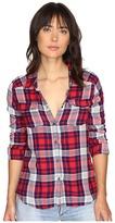 Roxy Plaid On You Long Sleeve Shirt Women's Clothing