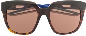 Balenciaga Eyewear Hybrid D-Frame sunglasses