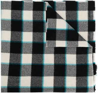 Acne Studios Cassiar check scarf
