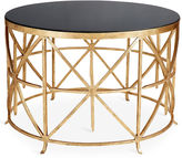 One Kings Lane Collection Arcata Round Coffee Table, Gold