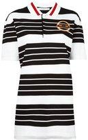 Givenchy stripe patch polo shirt