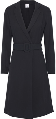 Iris & Ink Ocotillo Belted Crepe Wrap Dress