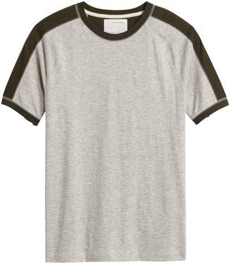 Banana Republic Heritage Cotton-Yak Wool T-Shirt