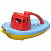 Asstd National Brand Green Toys Tug Boat Red Accessory