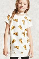 Forever 21 Girls Pizza Graphic Tee