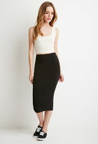 Forever 21 Bodycon Midi Skirt