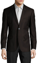 English Laundry Wool Notch Lapel Sportcoat