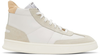 Spalwart White Smash High Sneakers