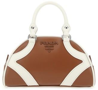 Prada Colour Block Bowling Bag