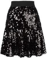 Dolce & Gabbana sequinned peplum skirt - women - Silk/Cotton/Polyamide/Spandex/Elastane - 42