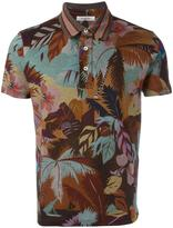Valentino tropical print polo shirt - men - Cotton - M