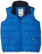 Timberland Boy's Puffer Jacket Sleeveless Coat,12 Years (Manufacturer Size:12A)