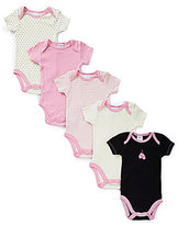 Starting Out Baby Girls Newborn-6 Months 5-Pack Ballet-Themed Bodysuits