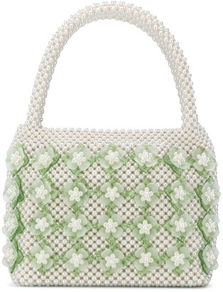 Shrimps Thelma floral tote bag