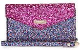 Kate Spade Skyline Glitter iPhone 7 Envelope Wristlet