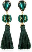 Suzanna Dai Women's Lisboa Small Tassel Gumball Drop Earrings