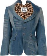 Junya Watanabe fitted denim blazer