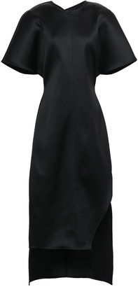 Esteban Cortazar Neoprene Midi Dress