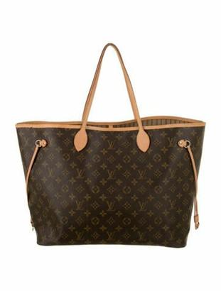 Louis Vuitton Monogram Neverfull GM Brown