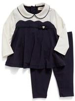 Armani Junior Long Sleeve Top & Leggings Set (Baby Girls)