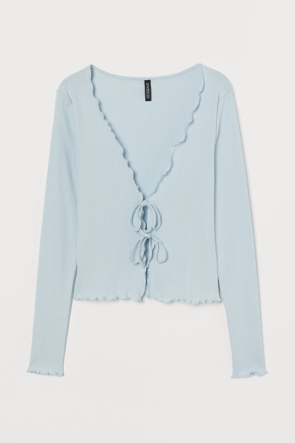 Thumbnail for your product : H&M Short jersey cardigan