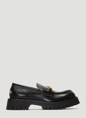 Gucci Chunky Lug Sole Loafers
