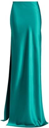 Alejandra Alonso Rojas Silk Maxi Skirt