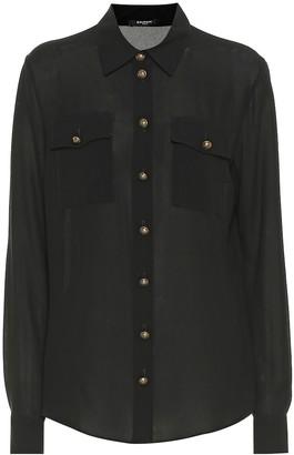 Balmain Silk shirt