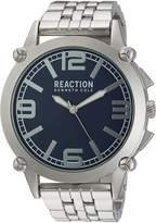 Kenneth Cole Reaction Men's 10030949 Sport Analog Display Japanese Quartz Silver Watch