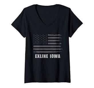 Womens American Flag Exline