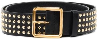 Alexander McQueen Studded Buckled Belt