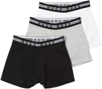 HUGO BOSS Set Of 3 Cotton Jersey Boxer Briefs