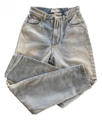 Fiorucci Blue Cotton Jeans