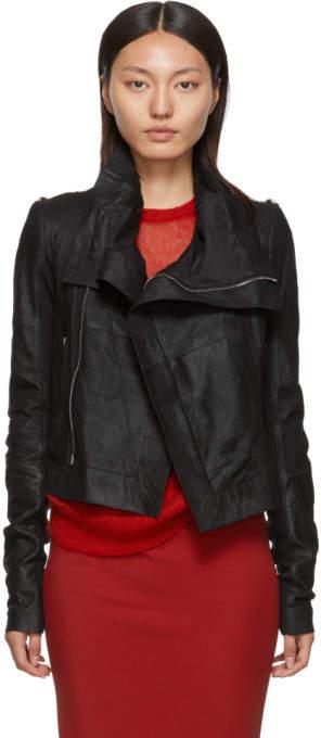 1876120b6 Black Blister Biker Leather Jacket