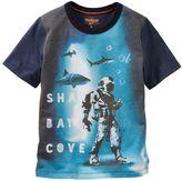 "Osh Kosh Boys 4-12 Shark Bay Cove"" Graphic Tee"