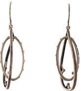 Elizabeth and James Textured Drop Earrings