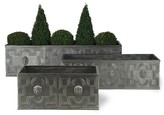 The Well Appointed House Elizabethan Trough Garden Planter in Faux Lead-Available in Three Different Sizes