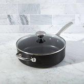 Crate & Barrel Le Creuset ® Toughened Nonstick 4.25-Qt. Sauté Pan with Lid