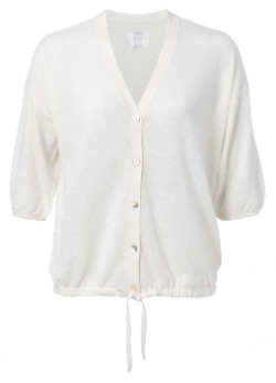 Ya-Ya Cotton Cardigan White - small