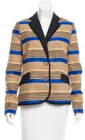 Sea Linen-Blend Striped Blazer w/ Tags