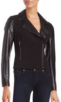 French Connection Alana Contrast Moto Jacket