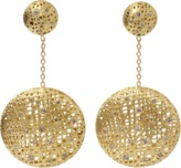 Yossi Harari Drop Lace Diamond Earrings