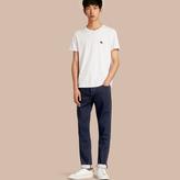 Burberry Straight Fit Indigo Stretch Denim Jeans