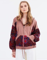 Free People Magpie Oversize Lacey Jacket