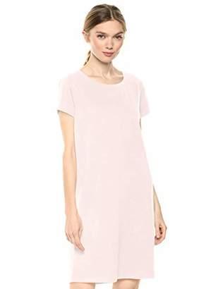 Daily Ritual Lived-in Cotton Crewneck T-shirt Dress Casual,(EU S - M)