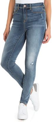Jordache Women's Super High-Waist Skinny Jeans