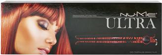 NuMe Ultra 100% Tourmaline Ceramic Flat Iron Red Zebra