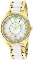 Oceanaut Pearl Womens Mother-of-Pearl Dial and Gold-Tone Bracelet Watch