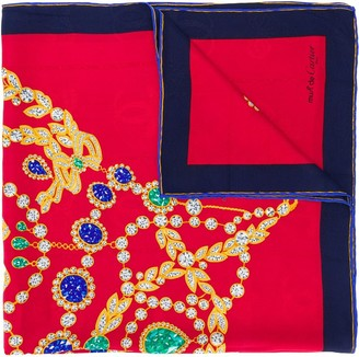Cartier 1990s Pre-Owned Jewellery Print Scarf